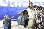 Southwest Airlines Flight 1380 NTSB Engine Inspection 2 PHL KPHL.jpg