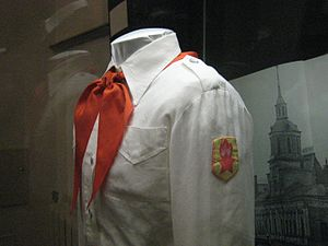 Vladimir Lenin All-Union Pioneer Organization - Dress White Uniform of the Pioneers