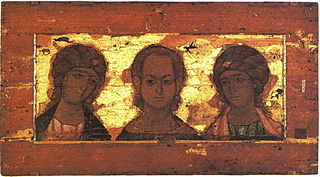Christ Emmanuel with archangels