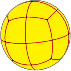 Deltoidal icositetrahedron - Spherical deltoidal icositetrahedron