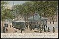 Spui met het eindpunt van de tram tussen Amsterdam en Haarlem. Uitgave Dr. Trenkler Co. Den Haag, Afb PBKD00354000002.jpg