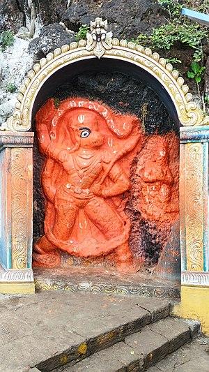 Lakshmi Narasimha Temple, Mangalagiri - Sri Hanuman idol