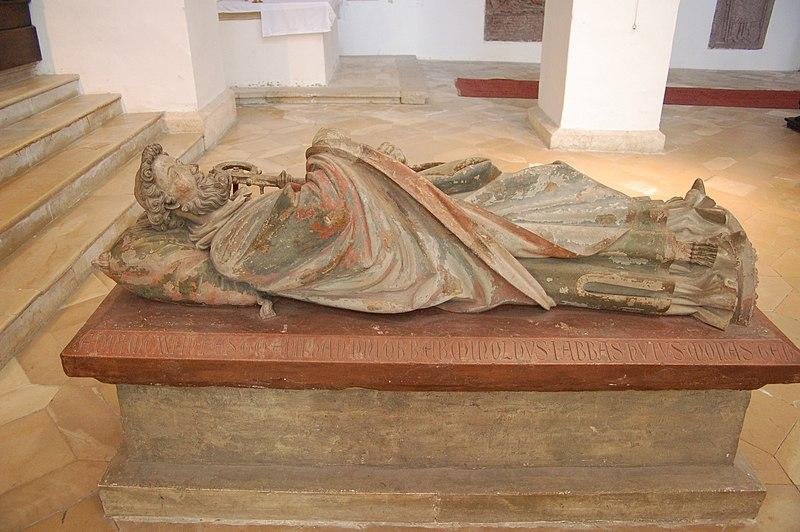 Erminolds tumba i St Georg i Prüfening i Regensburg