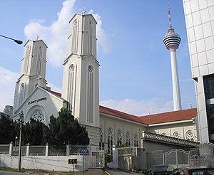 Christianity in Malaysia - St. John's Cathedral in Kuala Lumpur
