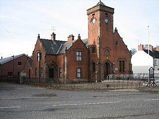 Donaghcloney Human settlement in Northern Ireland