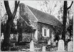 St. David's Episcopal Church (Radnor, Pennsylvania) - Photograph of St. David's Church circa 1907.