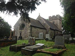 Llanilid - Image: St Ilid & St Curig Llanilid Wales 1