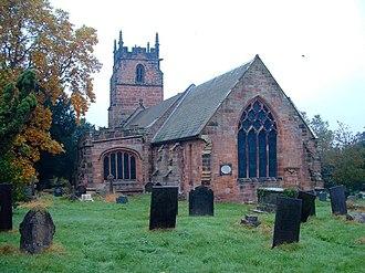 Longdon, Staffordshire - Image: St James the Great, Longdon
