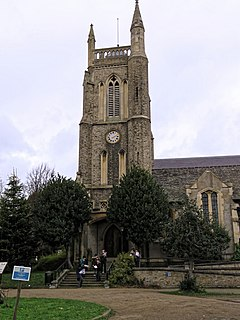 St John The Baptists Church, Leytonstone Church in London, England