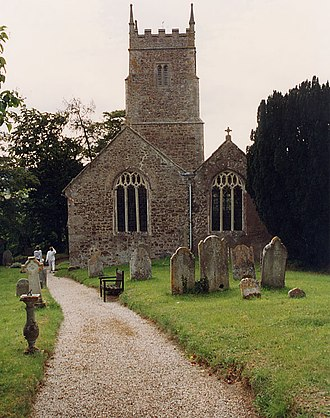 Ashton, Devon - Outside view of St John the Baptist's church