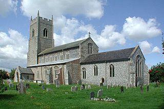 Sparham farm village in the United Kingdom