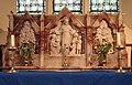 St Nicholas' church - C 19 reredos - geograph.org.uk - 893734.jpg