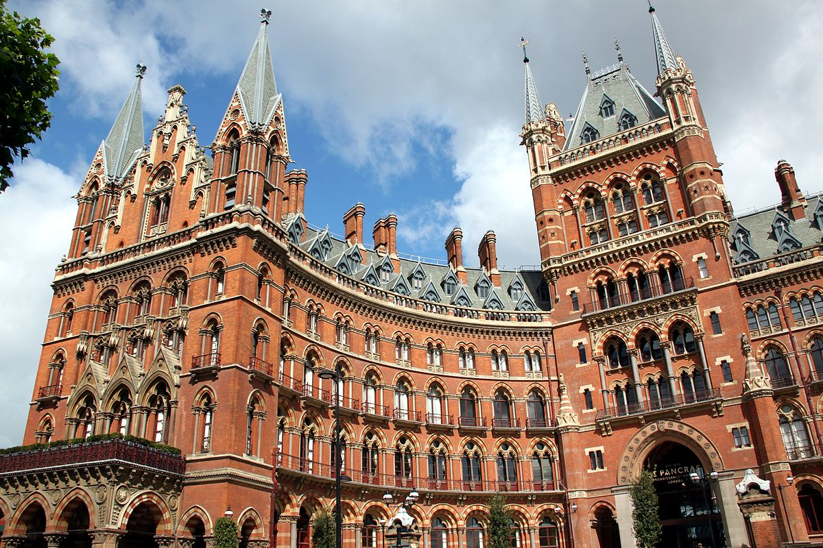 st pancras renaissance london hotel wikipedia. Black Bedroom Furniture Sets. Home Design Ideas