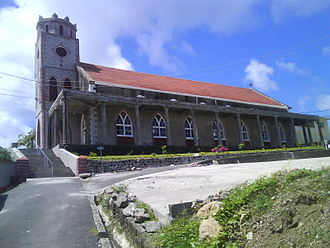 Sauteurs - Image: St Patrick's Catholic Church (Sauteurs, Grenada) (exterior)
