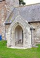 St Peter, Carleton St Peter, Norfolk - Porch - geograph.org.uk - 1491543.jpg