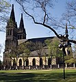 St Peter and St Paul Cathedral in Vysehrad - Prague, Czech Republic - panoramio.jpg