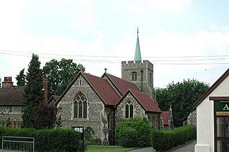 Benson Memorial Church - Image: St Richard of Chichester, Buntingford, Herts geograph.org.uk 355422