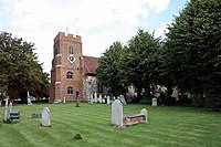 St Thomas, Bradwell, Essex - geograph.org.uk - 965289.jpg