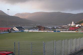 Tvøroyrar Bóltfelag - Sevmýri Stadium, former stadium of TB Tvøroyri
