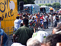 Stage 11 preparations at the 2006 Tour de France.jpg