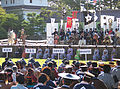 Stage after 2006 Aizu parade.JPG