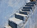 Stairway to heaven in the ancient city of Zefat.jpg