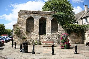 Stamford, Lincolnshire - A fragment of Stamford Castle