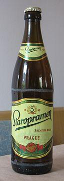 Staropramen Beer prágai sör