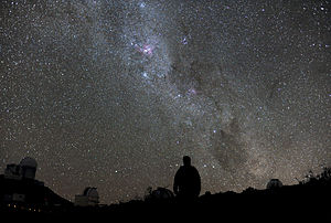 Night sky - Image: Starry Night at La Silla