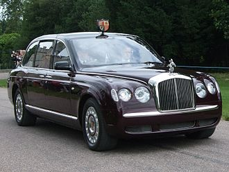 Limousine - Traditional limousine An official state car of Queen Elizabeth II.