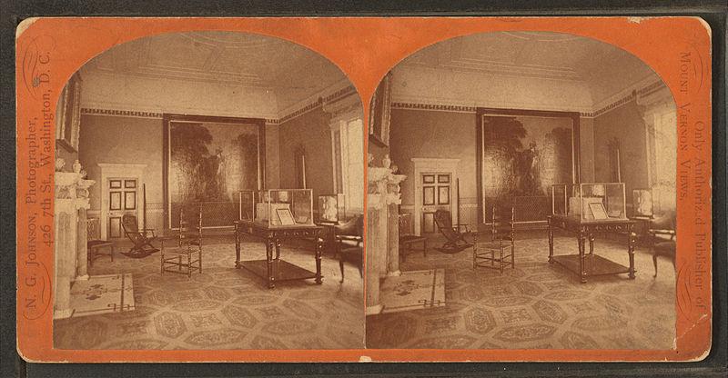 File:State dining room, Mt. Vernon mansion, by N. G. Johnson.jpg