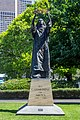 Statue of St Catherine of Siena, St. Patrick's Cathedral, Melbourne, 2017-10-29.jpg