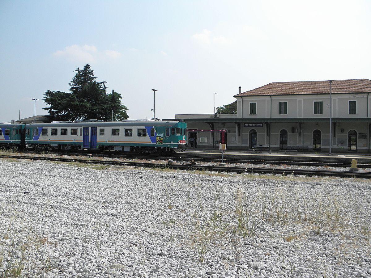 Stazione di montebelluna wikipedia for B b mobili montebelluna