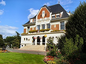 Sainte-Geneviève-des-Bois, Essonne - Town Hall