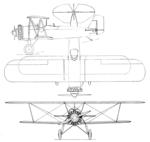 Stearman C2 3-view Aero Digest May 1928.png