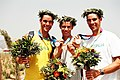 Stewart Brothers Bronze medallists, Athens Olympics.jpg