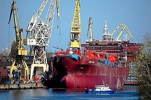 Szczecin Shipyard - Szczecin Shipyard in Szczecin, Poland