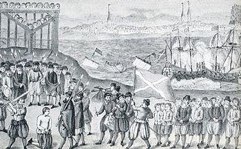 The execution of Klaus Störtebeker
