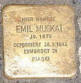 Stolperstein-PariserStr.56(Wilm)EmilMuskat.jpg