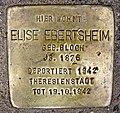 Stolperstein Aystettstraße 6-Elise Ebertsheim.jpg