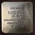Stolperstein Duisburger Str 2a (Wilmd) Hugo Cohen.jpg