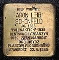 Stolperstein Motzstr 11 (Schön) Aron Leib Schönfeld.jpg