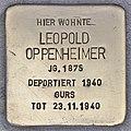 Stolperstein für Leopold Oppenheimer (Heidelberg).jpg