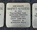 Stolperstein für Manfred Nussberg, Barbarossastraße 55, Chemnitz.JPG