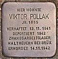 Stolperstein für Viktor Pollak (Salzburg).jpg