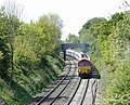 Stone train approaching Great Cheverell - geograph.org.uk - 1314903.jpg