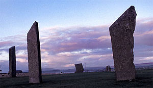 The Pirate (novel) - Stones of Stenness