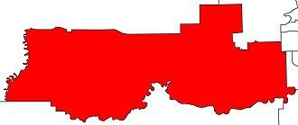 Stony Plain (electoral district) - Image: Stony Plain electoral district 2010