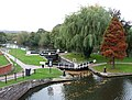 Stourport Lower Basin and wide lock to the River Severn - geograph.org.uk - 1025002.jpg