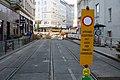 Straßenbahn Wien Gleisbett-Erneuerung Lerchenfelder Straße Kaiserstraße 2020-07-17 06.jpg